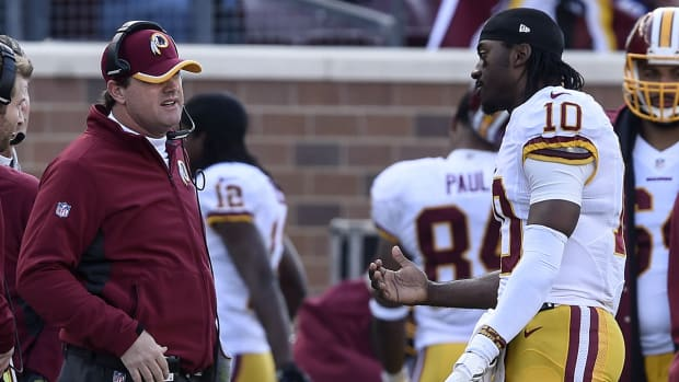 Should Gruden have benched RGIII? IMG