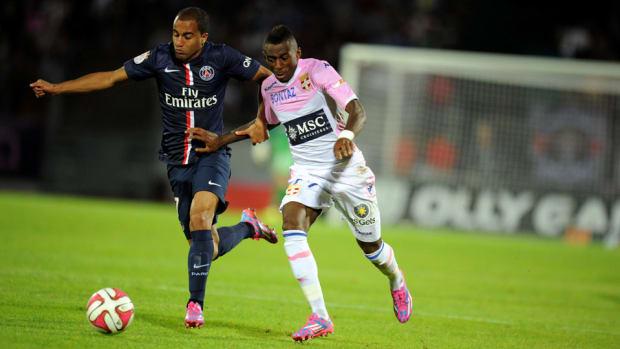 Lucas Mouria PSG Evian article