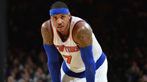 Knicks F Carmelo Anthony