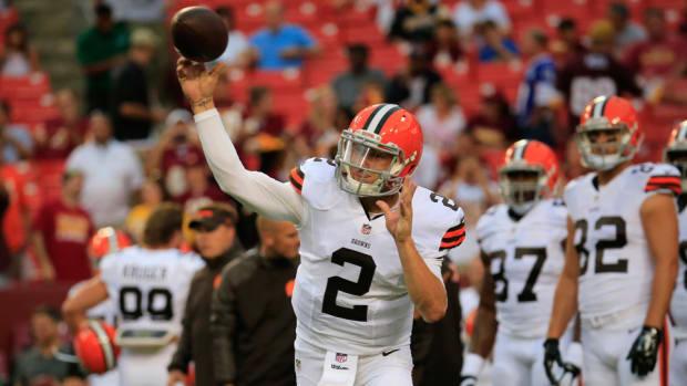 Johnny Manziel Cleveland Browns quarterback