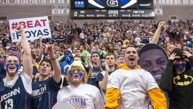 Georgetown-UConn to renew old Big East hoops rivalry