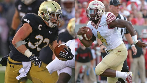 Notre Dame's season rides on Florida State matchup