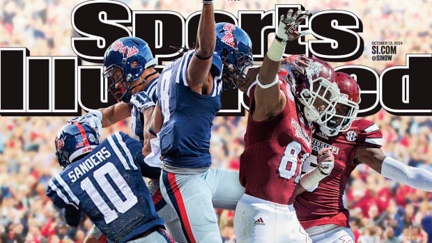 Mississippi State and Ole Miss featured on Sports Illustrated cover