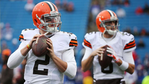 Report: Johnny Manziel expected to start Sunday against Bengals IMAGE