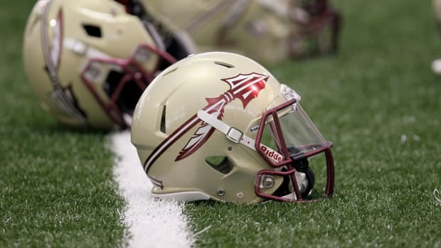Florida State Seminoles helmets