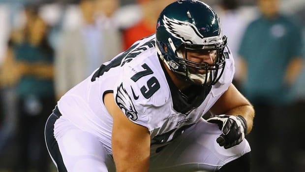 eagles  Todd Herremans torn biceps