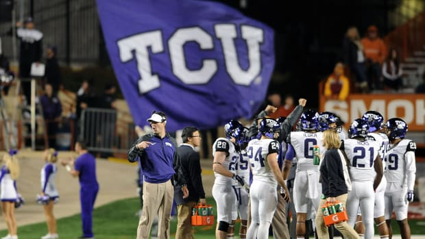 TCU jumps Florida State in latest College Football Playoff rankings IMAGE