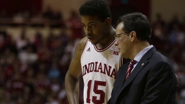 Police say Hoosier's Devin Davis at fault in accident