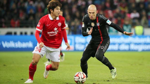 Arjen Robben Bayern Munich Mainz 960