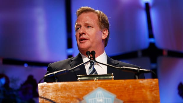 Roger Goodell testifies in Ray Rice appeal IMAGE