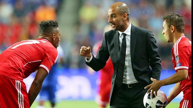 Pep Guardiola Jerome Boateng