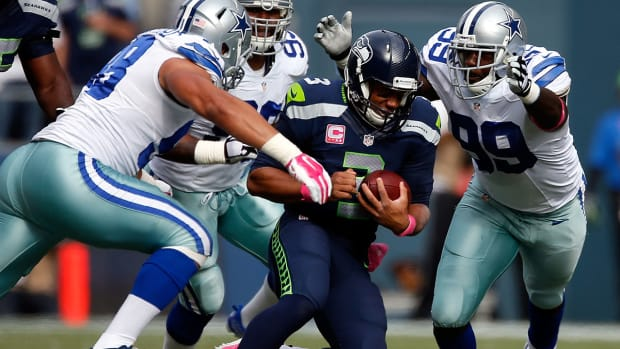 Do the Seahawks rely on Russell Wilson running too much?