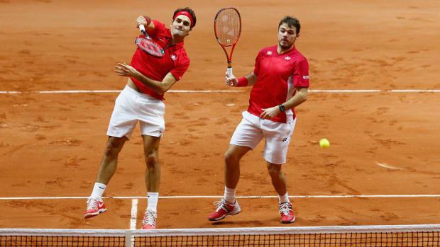 Wawarinka Federere Davis Cup