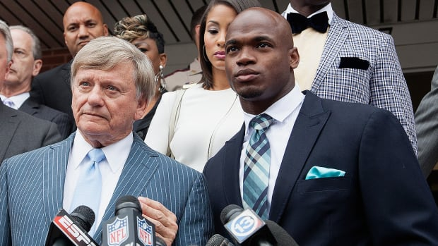 Will Adrian Peterson have the same legal success as Ray Rice? - Image
