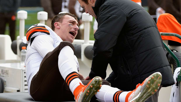 Report: Browns' QB Johnny Manziel fined - image