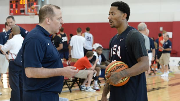 Derrick Rose Tom Thibodeau