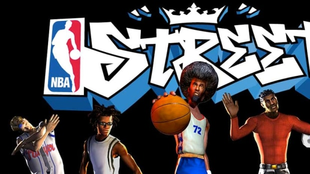 NBA Street video game logo