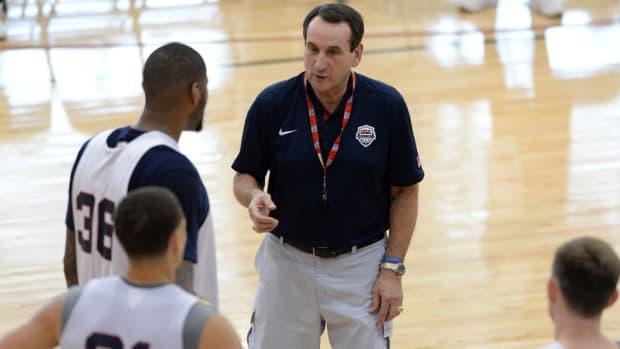 Coach K Team USA Basketball