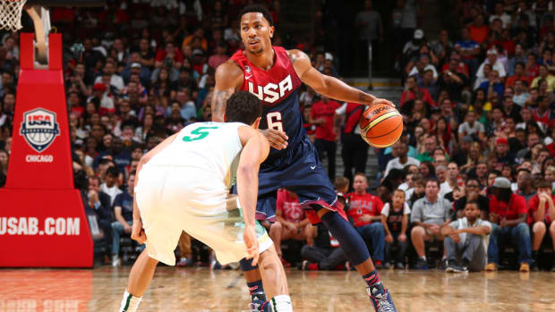 Derrick Rose, Team USA FIBA 8-22-14