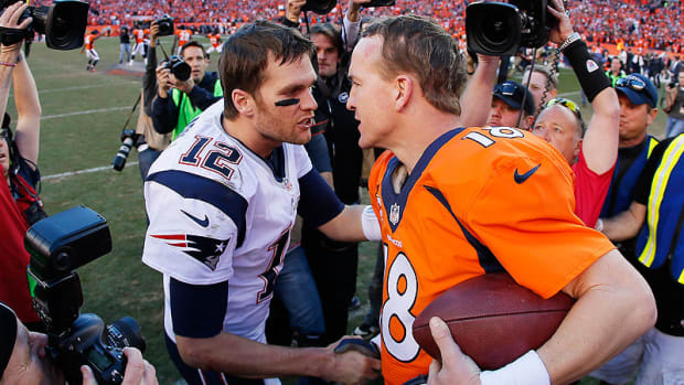 Peyton Manning got the better of Tom Brady in the AFC title game.