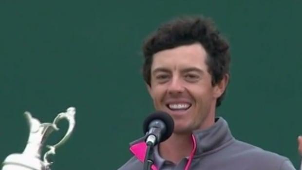 Rory McIlroy booed