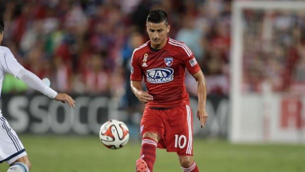 FC Dallas's Mauro Diaz