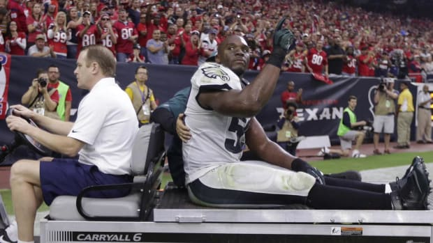 DeMeco Ryans out for season
