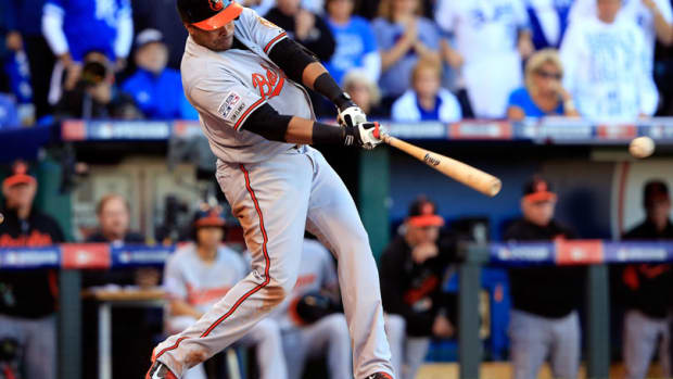 Nelson Cruz Baltimore Orioles 2014