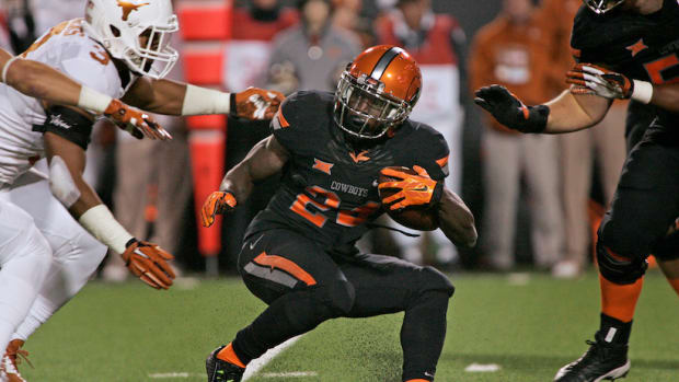 tyreek hill punt return oklahoma state