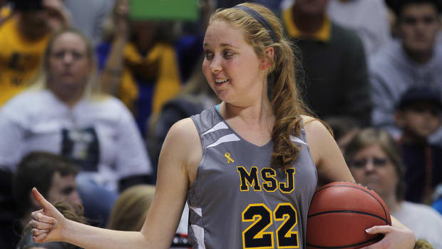 More than $1 million donated to pediatric cancer research in Lauren Hill's name IMAGE