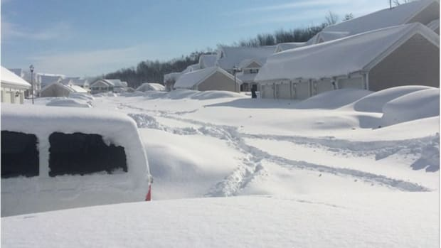 Buffalo Bills players are having a hard time getting out of the house