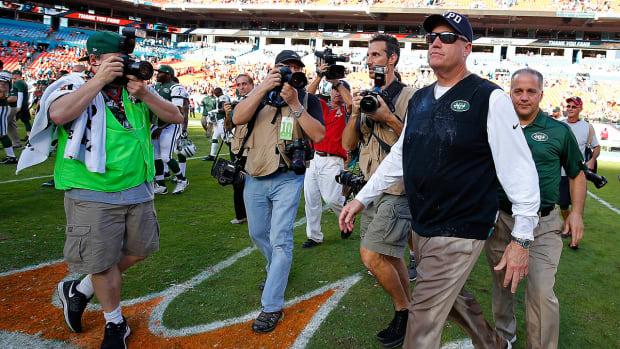 Jets fire Rex Ryan, GM John Idzik after 4-12 season