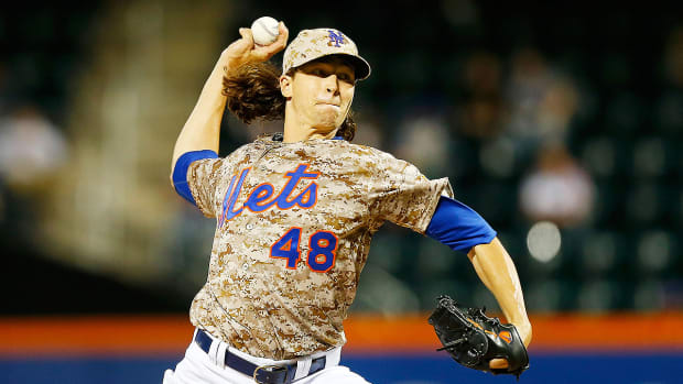 Matt Harvey talks Jacob deGrom and the pressure of making the Mets a playoff team - Image