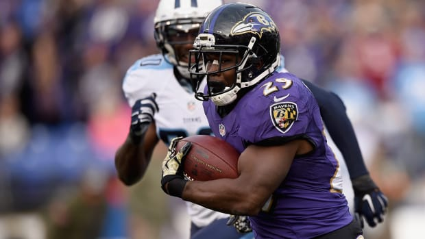 Justin Forsett on taking over the starting job in Baltimore - Image