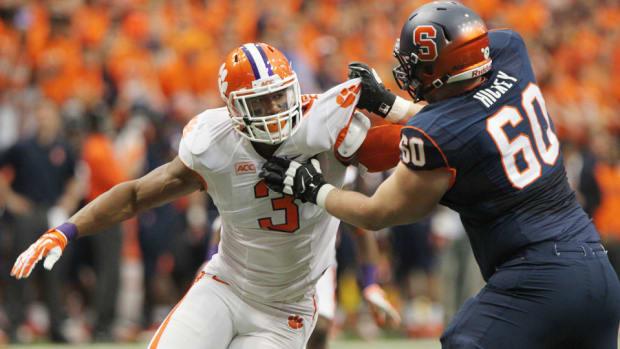 Clemson Vic Beasley 2015 NFL draft primer