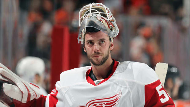 Red Wings G Jonas Gustavsson out for two months