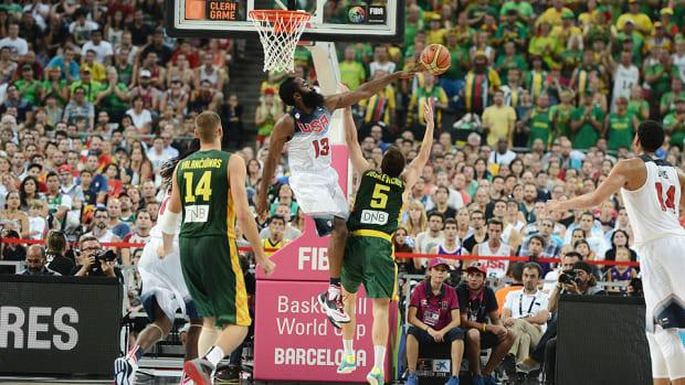 James Harden USA Basketball Lithuania FIBA World Cup