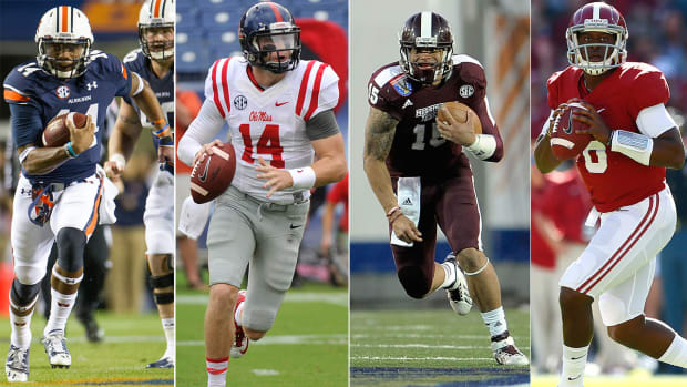 Which team is the best in the SEC West?