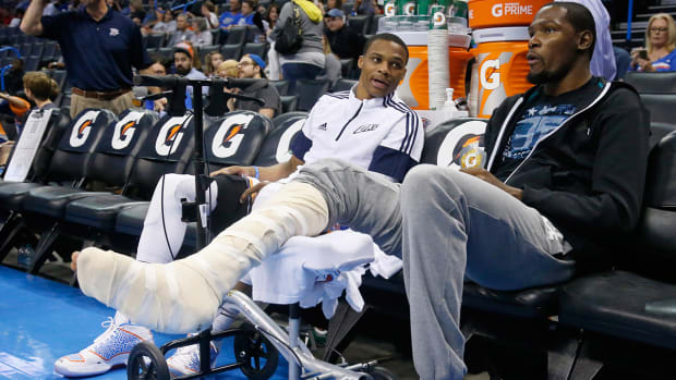 Does Russell Westbrook's injury doom Thunder's playoff hopes? - Image