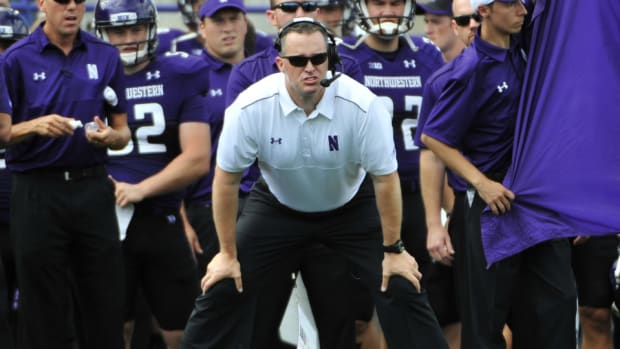 Northwestern embarrassment Pat Fitzgerald