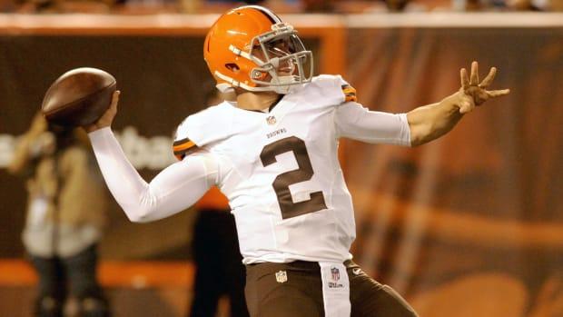 Johnny Manziel Cleveland Browns quarterback qb