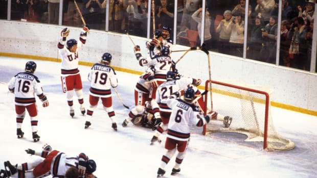 Miracle on Ice celebration