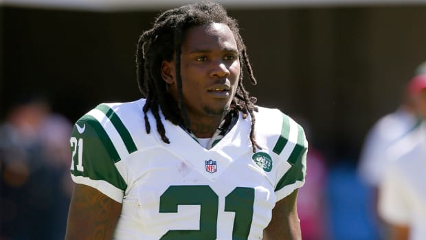 Jets' Chris Johnson 'frustrated' with role IMAGE