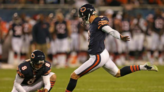 Bears kicker Robbie Gould
