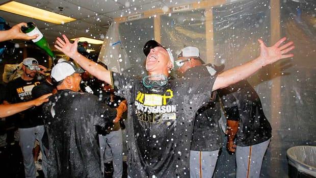 Pirates celebrate 2014 postseason berth