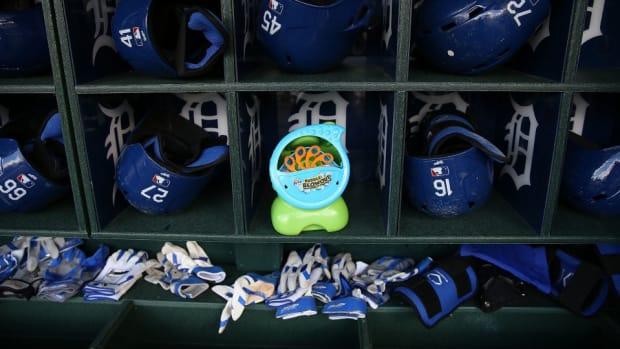 Los Angeles Dodgers banned bubble machine
