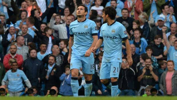 Frank Lampard man city chelsea non celebration