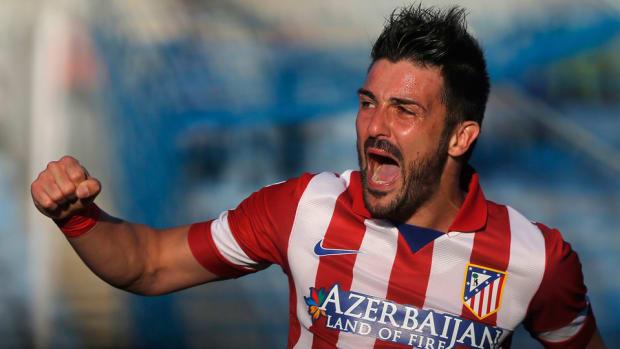 David Villa Retire Spain