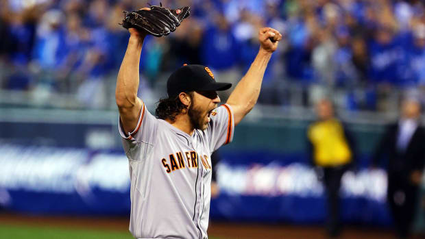 How will Madison Bumgarner's heavy 2014 workload impact his future? - Image