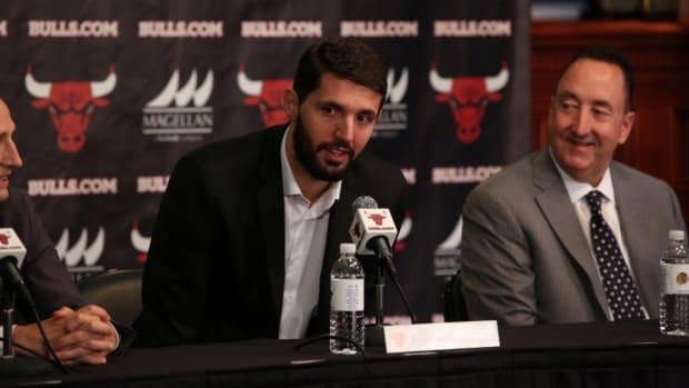 Chicago Bulls rookie Nikola Mirotic